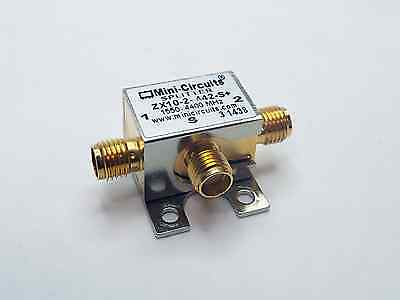 MINI-CIRCUITS ZX10-2-442-S+ 2-WAY POWER SPLITTER, 1550-4400 MHz SMA FEMALE