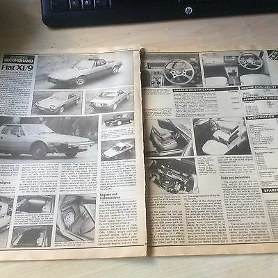 Fiat X1/9  Buying Secondhand  Article 1982