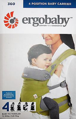 Ergobaby 4 Position 360 Baby Carrier - Green - Bc360A2F14
