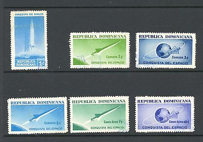 Dominican Republic 1964 SG 933-8 Space Research Used