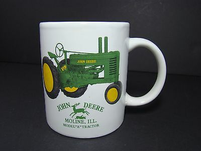 John Deere Mug Coffee Cup Model A Tractor Moline Ill Licensed Product