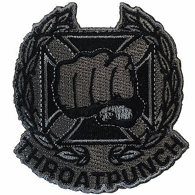Throat Punch - SWAT - Embroidered Tactical Morale Patch
