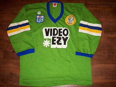 1990 1991 Canberra Raiders Adults Large Rugby League Shirt Australia Jersey