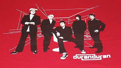 DURAN DURAN The Reunion Tour Red T-shirt Size Small NEW