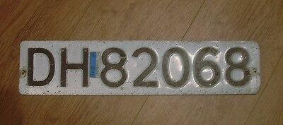 Norway Licence Plate.number Plate