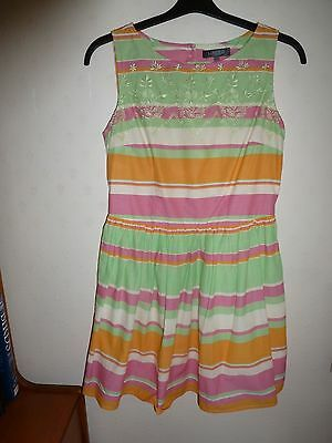 M And S Limited Collection Dress Size 12 Pastel Mix