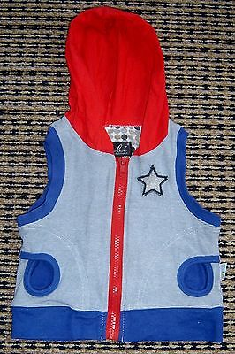 Oobi Baby Boys Zip Front Hooded Vest By 9 - 12 Months