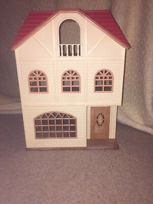 Sylvanian Families (2745)3 Storey Town House Figures Furniture & Accessories