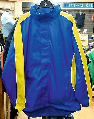 16 size Small Mens. KUSTOM KIT KK951 RIPSTOP RAIN JACKETS. NEW! IDEAL FOR A CLUB