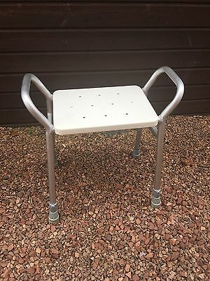 Patterson Medical adjustable height shower stool seat