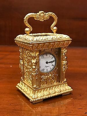 Fine Looking Small Brass Carriage Clock. Open To Offers.