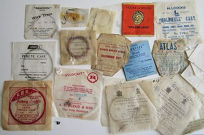 Vintage Fishing Cast and Hook Packets