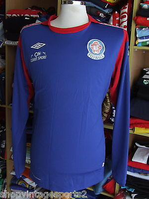 Shirt Lorenskog IF (XL) Home Long Sleeve Umbro Norway Trikot Jersey Matchworn
