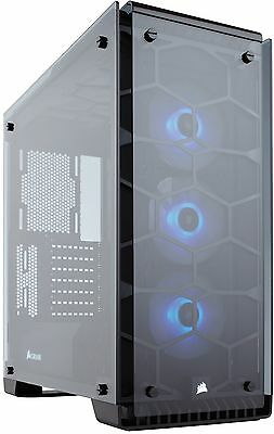 Corsair Crystal 570X Mid Tower Case w/Tempered Glass Side Panel [CC-9011098-WW]
