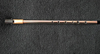 KILARNEY Irish 'tin' penny whistle tuneable in high D Excellent