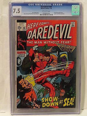 Daredevil #60 CGC 7.5 Crime-Wave appearance