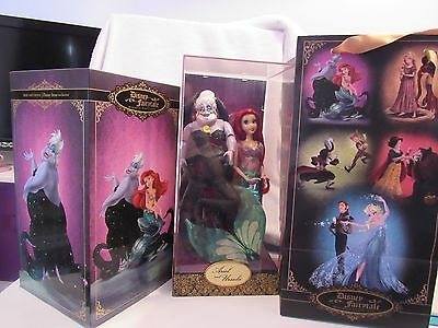 Disney Fairytale Designer Collection The Little Mermaid Ariel and Ursula Doll