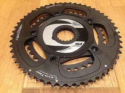 Cannondale Hollowgram SRM PM6 Powermeter Spider New Chainrings