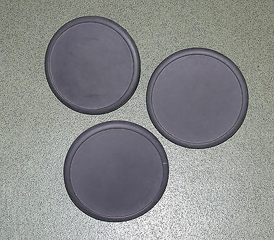 PACK OF 3 YAMAHA TP-60 electronic drum trigger pads toms etc
