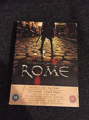 Rome DVD The complete first season (6 Disc Box Set)