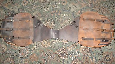 Harley motorcycle saddlebags throw over panniers