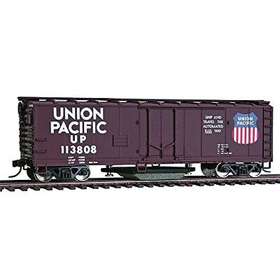 Walthers Trainline 40 Plug-Door Track Cleaning Boxcar - Union Pacific #11808