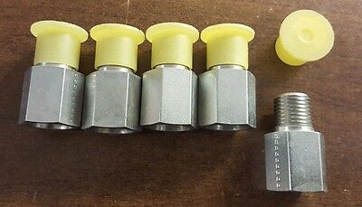 (Pack of 5)--Parker Hydraulic Straight Threaded Reducer RI1/4EDX1/2CF, Connector