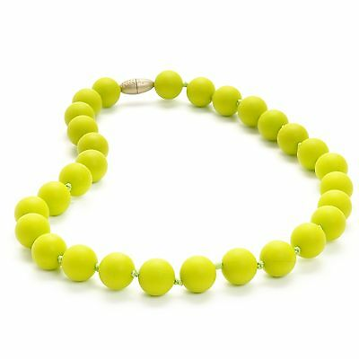 Chewbeads Juniorbeads Jane Jr. Necklace Chartreuse