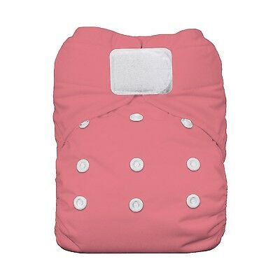 Thirsties All-in-One Hook and Loop Diapers Poppy One Size