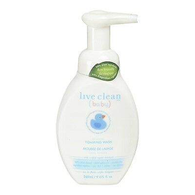 Live Clean Tearless Foaming Wash
