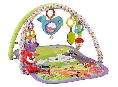 Fisher-Price 3-In-1 Musical Activity Gym Woodland
