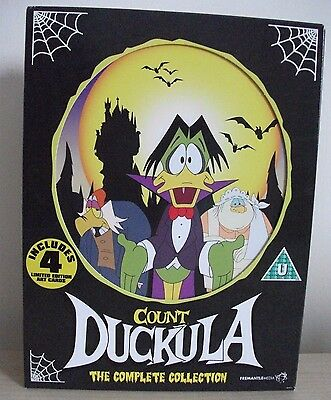 Count Duckula The Complete Collection 7 DVD Set Series 1 2 3