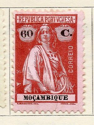 Mozambique 1921 Early Issue Fine Mint Hinged 60c. 130468