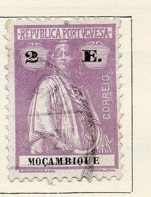 Mozambique 1921 Early Issue Fine Used 2E. 130472