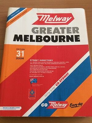 Melway Greater Melbourne Directory Edition 31 2004