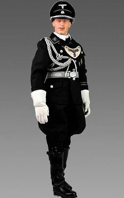 """DID 1/6 Scale 12"""" WWII LSSAH Josef Wunsche Parade Leader D80030"""