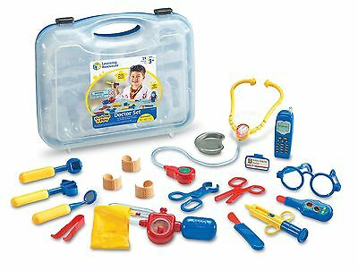 Learning Resources Pretend and Play Doctor Set Multicolored Standard Packaging