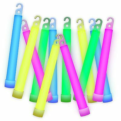Etekcity 25 Pack Glowsticks with Mixed Colors Party Favors Supplies 6 Inch