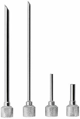iSi North America Stainless Steel Injector Tips Set of 4