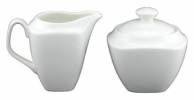Tannex Du Lait Emmy Sugar and Creamer Set White