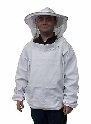New Professional White XL / Extra Large Beekeeping / Bee Keeping Suit Jacket ...