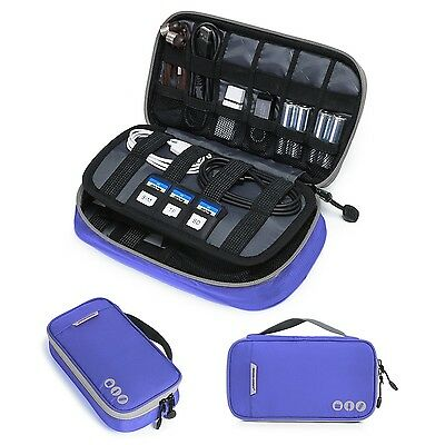 BAGSMART Travel Electronic Accessories Cable Organizer Bag Portable Case Kind...