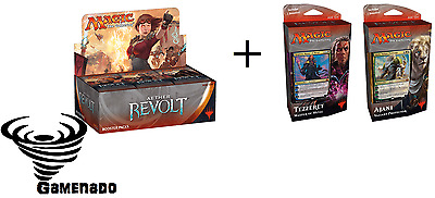 Magic the Gathering Aether Revolt- Booster Box + planeswalker decks combo deal