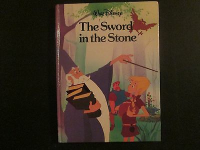 Walt Disney's The Sword in the Stone Twin Books (1987) Hard To Find