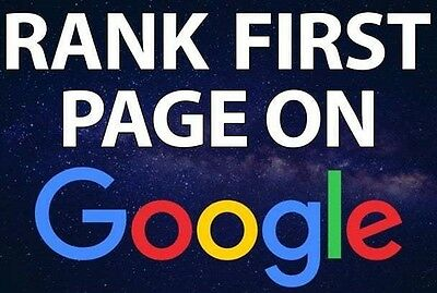 I Will Rank Your Website FIRST Page of Google SEO Backlinks Service