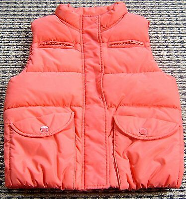 Country Road  Boys Red Puffer Vest Sz 6