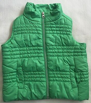 COTTON ON boy/girl Puffer Vest Green Size 2 Great UC. Combined Post