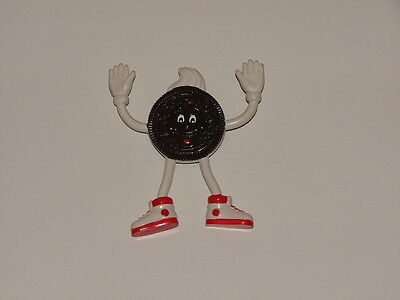"Vintage OREO Cookie 4.5"" Bendy figure ( new ) MINT condition (Canadian Version )"