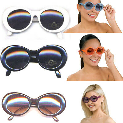 Kurt Cobain Sunglasses (Choose Color) Nirvana Onassis Jackie O Kennedy Mod Round