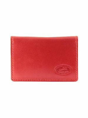Mancini 2010110-rd RFID Secure Business-Credit Card Case Red Under Seat
